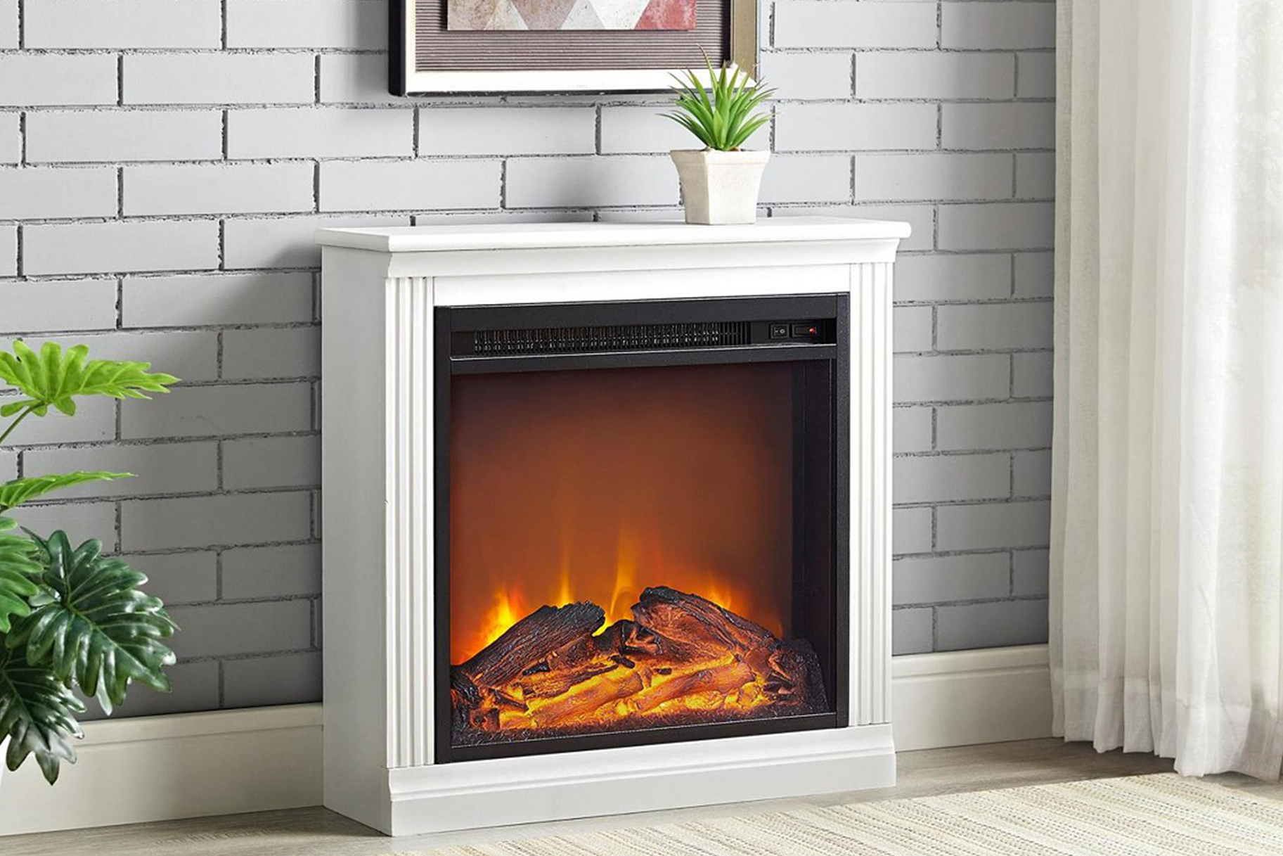 Magnificent Best Electric Fireplaces Stylish Plug In Fireplace Ideas Download Free Architecture Designs Itiscsunscenecom