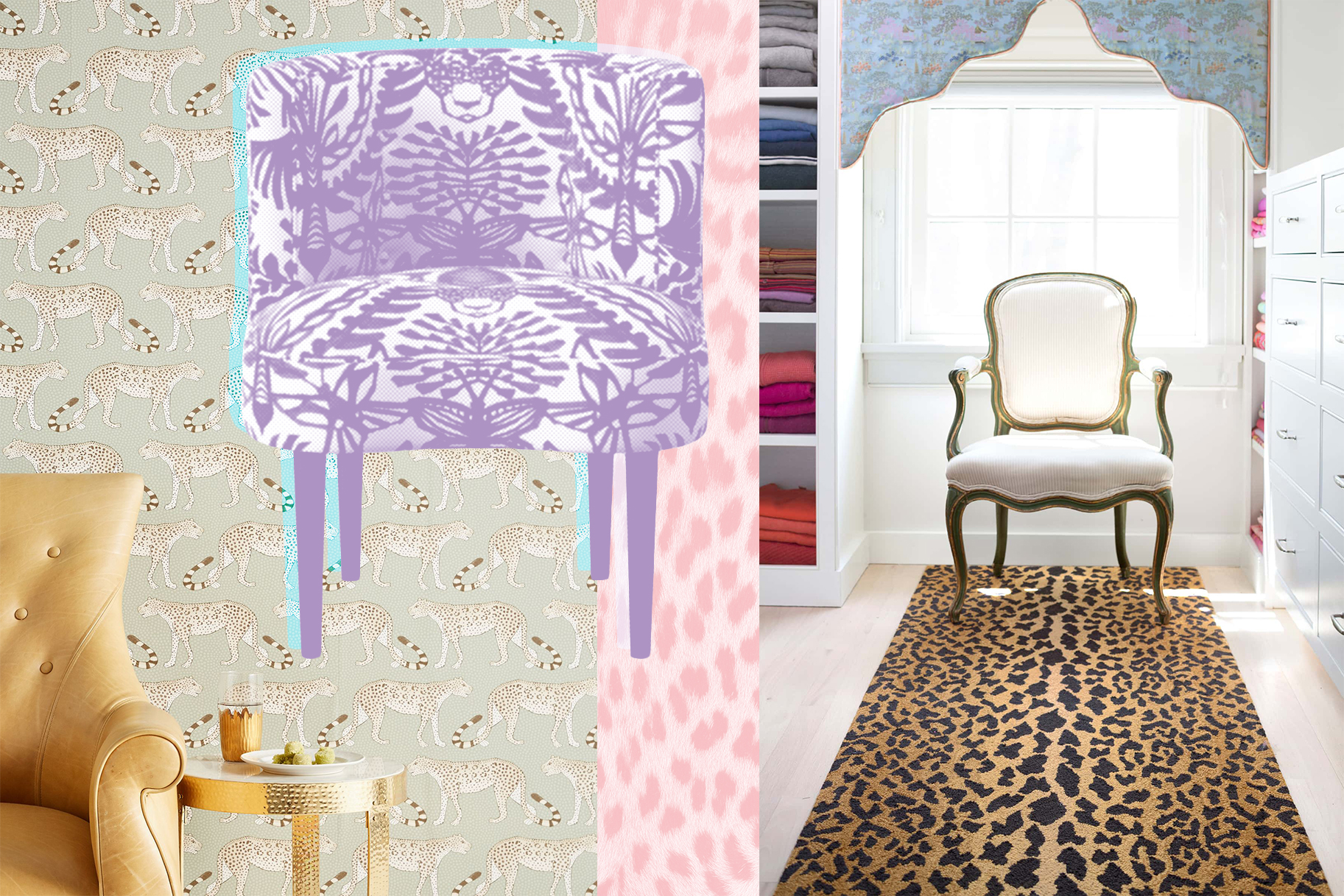 Leopard Home Trend Decor Design Featuring Animal Prints   Style ...