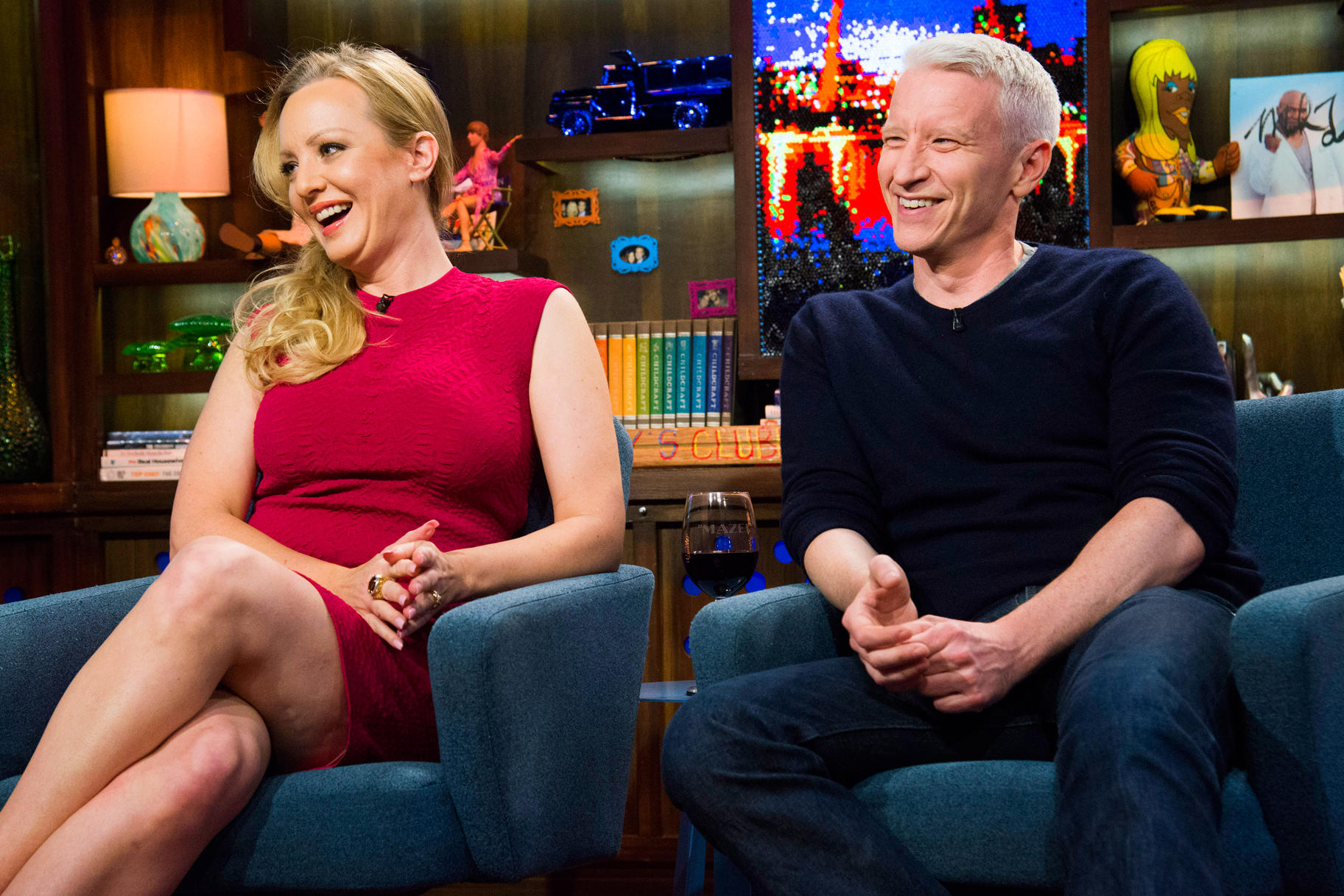 Anderson Cooper Nude Pics watch wendi mclendon-covey & anderson cooper | watch what