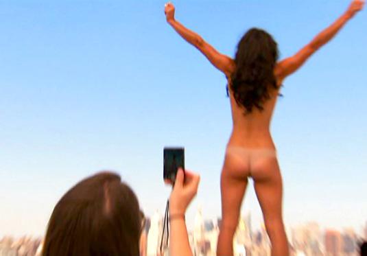 Bethenny frankel fully naked