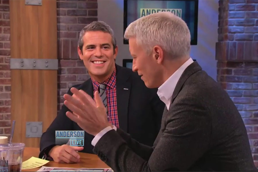 Anderson Cooper Reveals His Ex, Benjamin Maisani, Will Be A Co