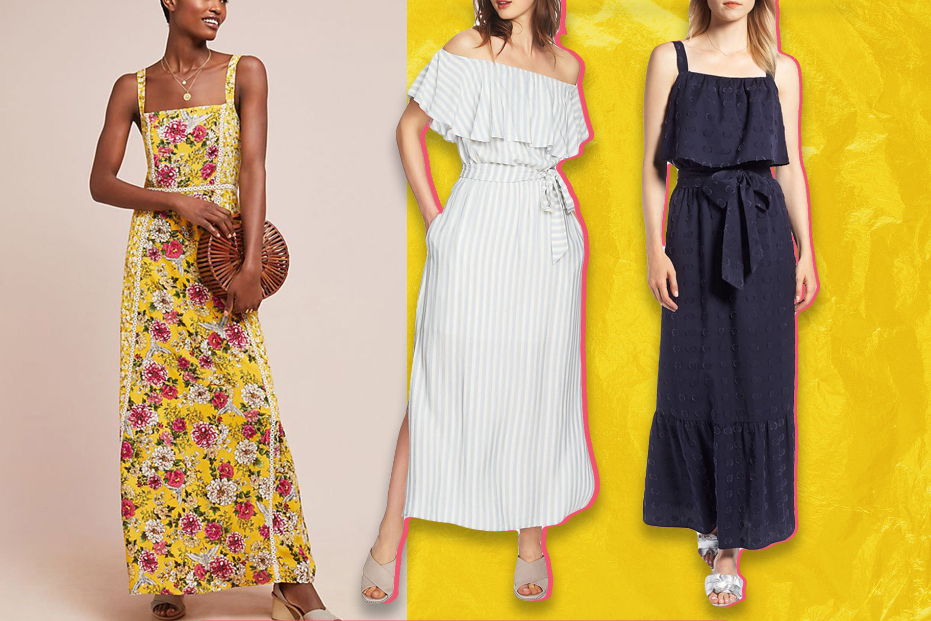 0239cd75267f 11 Maxi Dresses You'll Want to Wear Over and Over All Summer Long