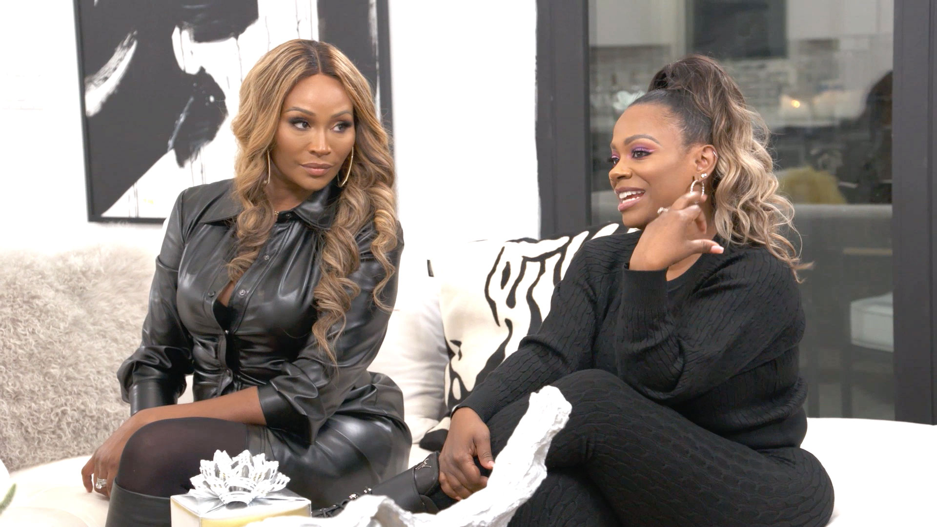 Kandi Burruss Says Drew Sidora Is Overreacting by Canceling Her Baby's Christening Because of LaToya Ali