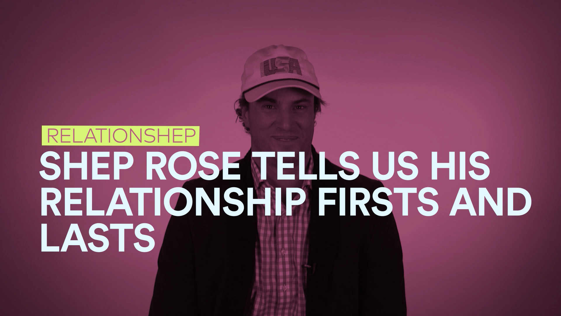 Shep Rose Reveals All About His First and Last Kisses...And More!