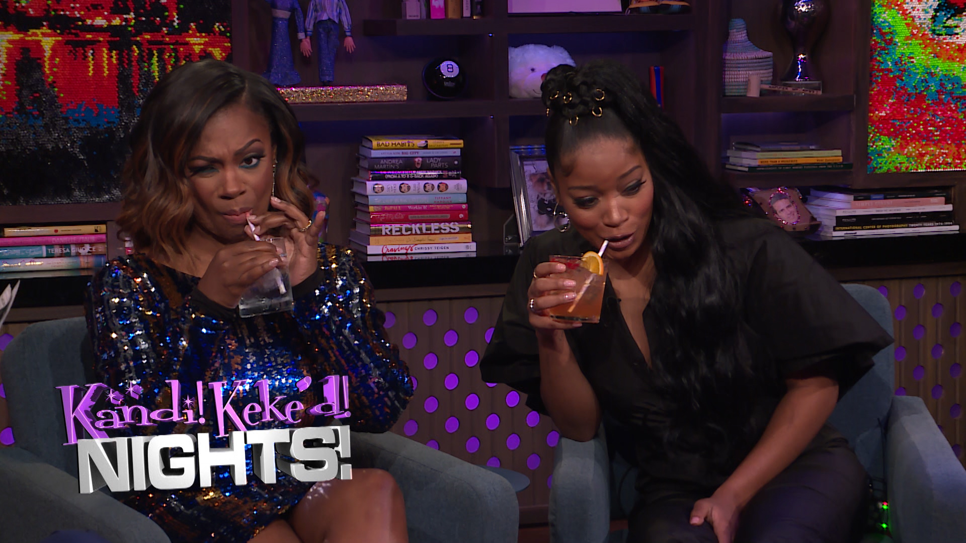 Never Have I Ever with Kandi Burruss and Keke Palmer