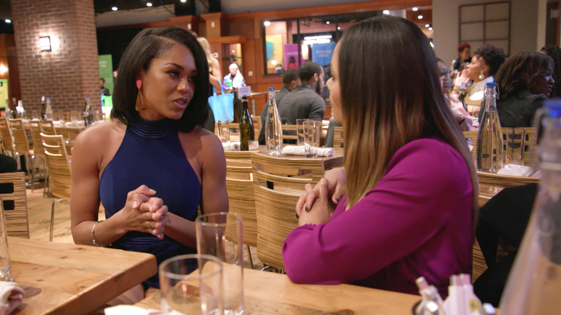 "Monique Samuels on Her Altercation With Candiace Dillard Bassett: ""She Didn't Deserve That"""