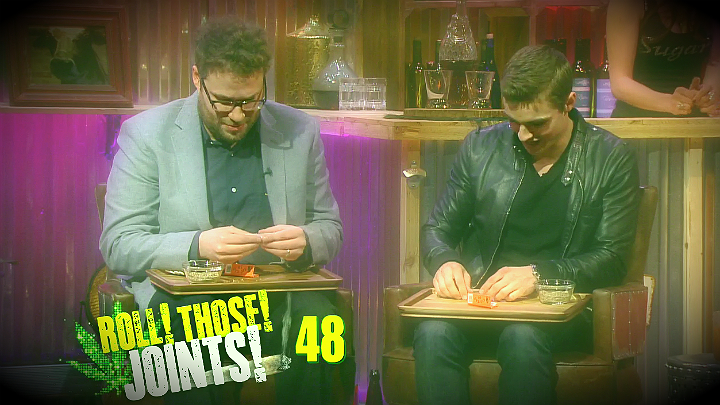 Seth & Dave Roll Joints With Andy!