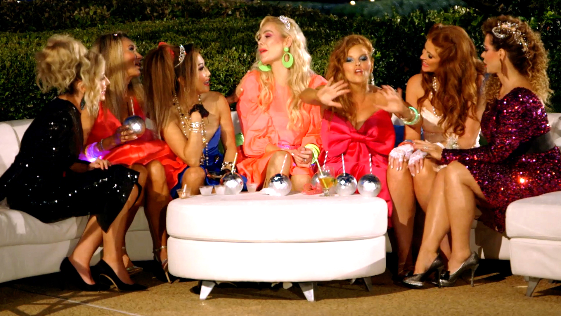 The Real Housewives of Dallas Get an 80s Makeover