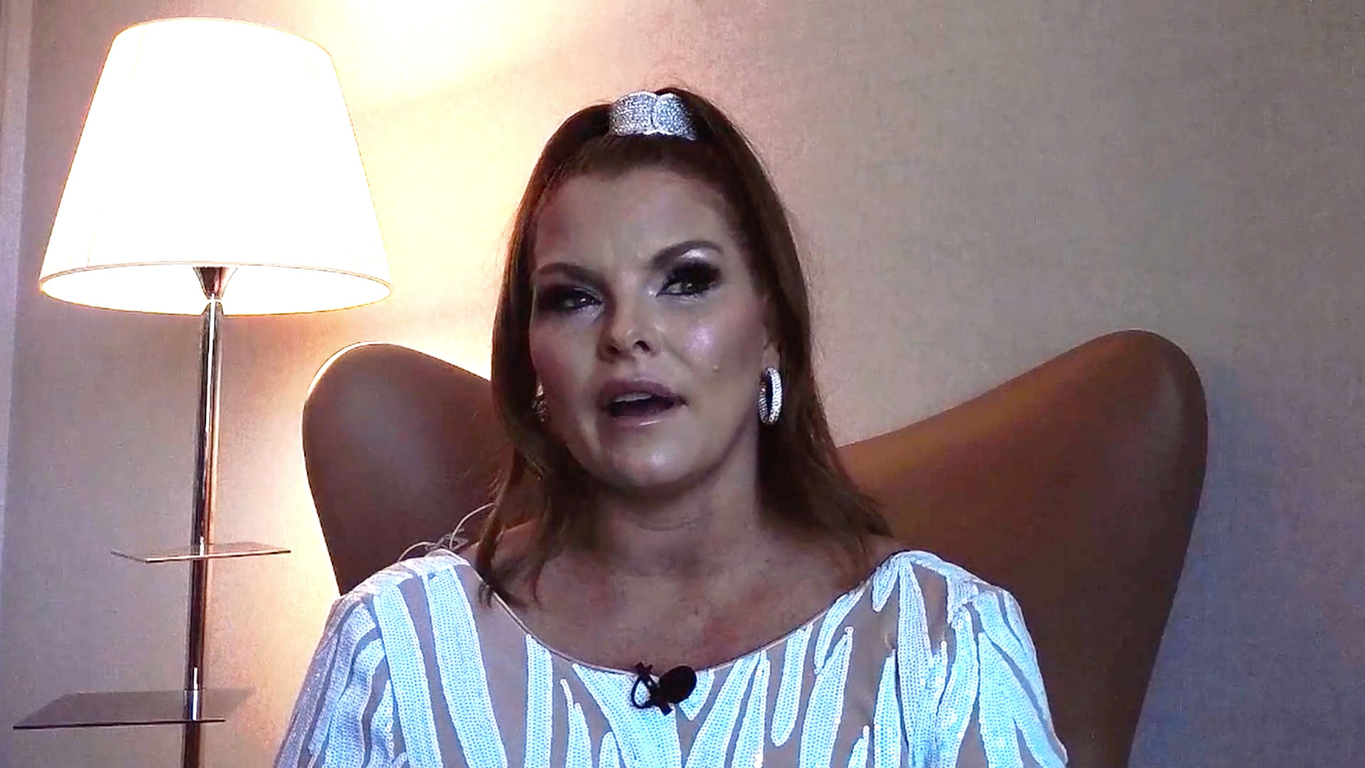 "Brandi Redmond Says She's ""Extremely Disappointed"" by the Video of Her Husband That Recently Surfaced"