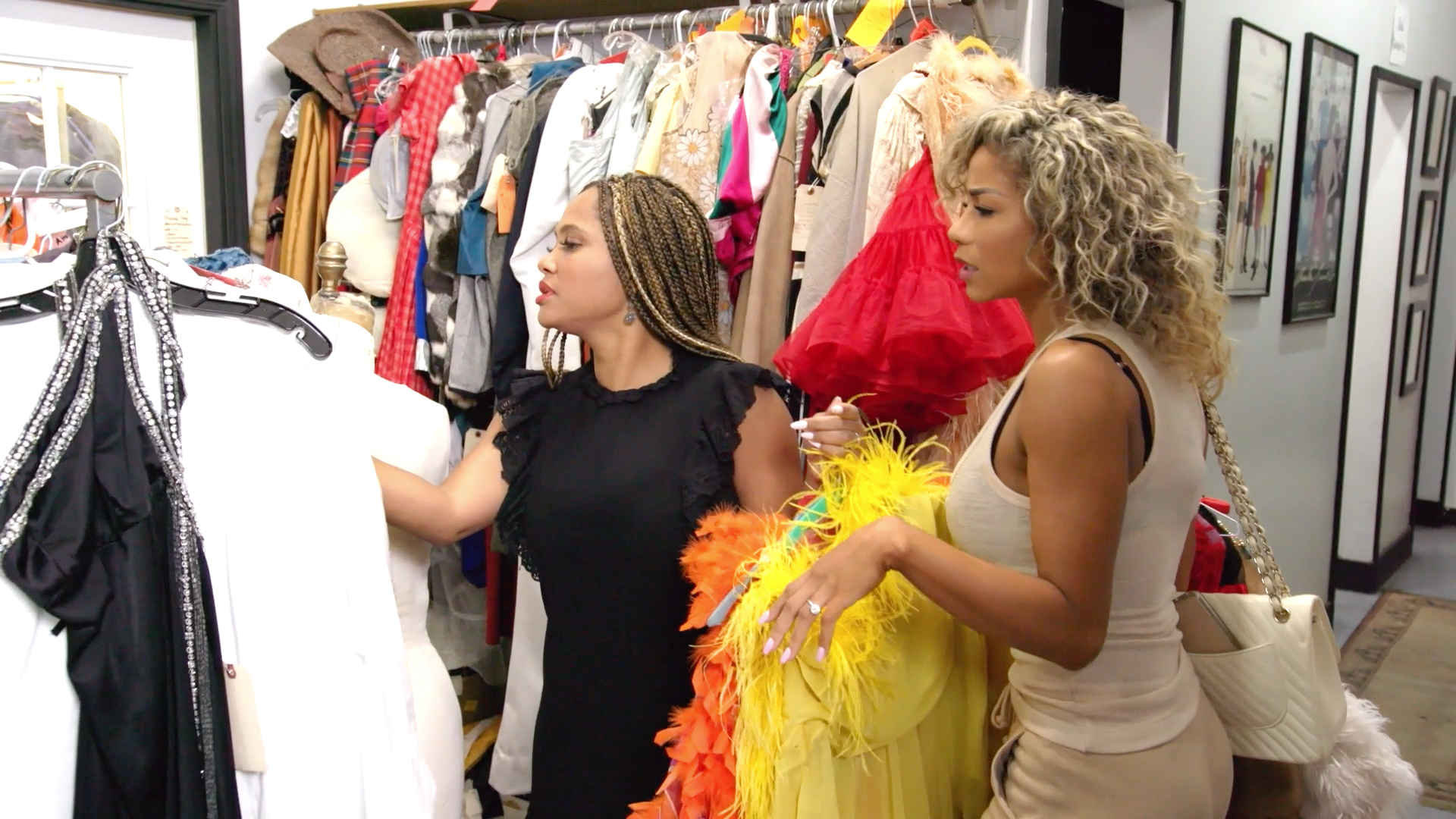 Jazmin Johnson and Shanique Drummond Go Shopping For Halloween Costumes