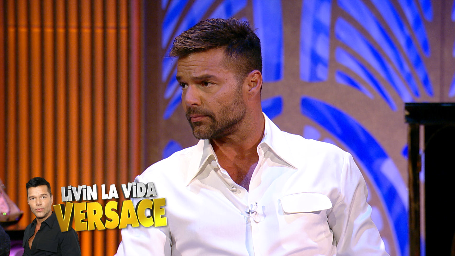 Ricky Martin Dishes about 'ACS Versace'