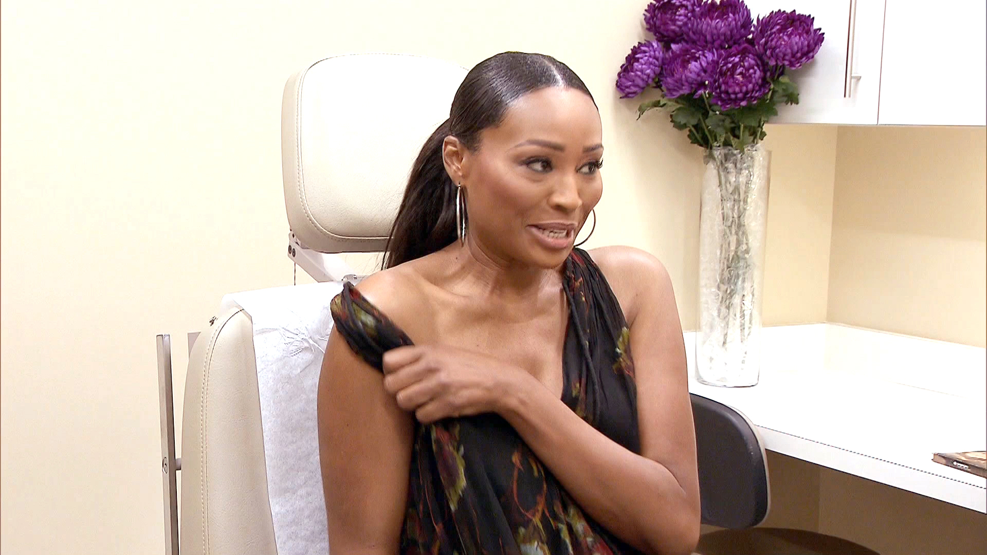 Cynthia Bailey Goes Topless!