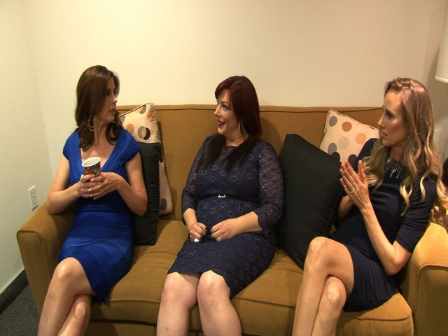 Backtage with Wilson Phillips