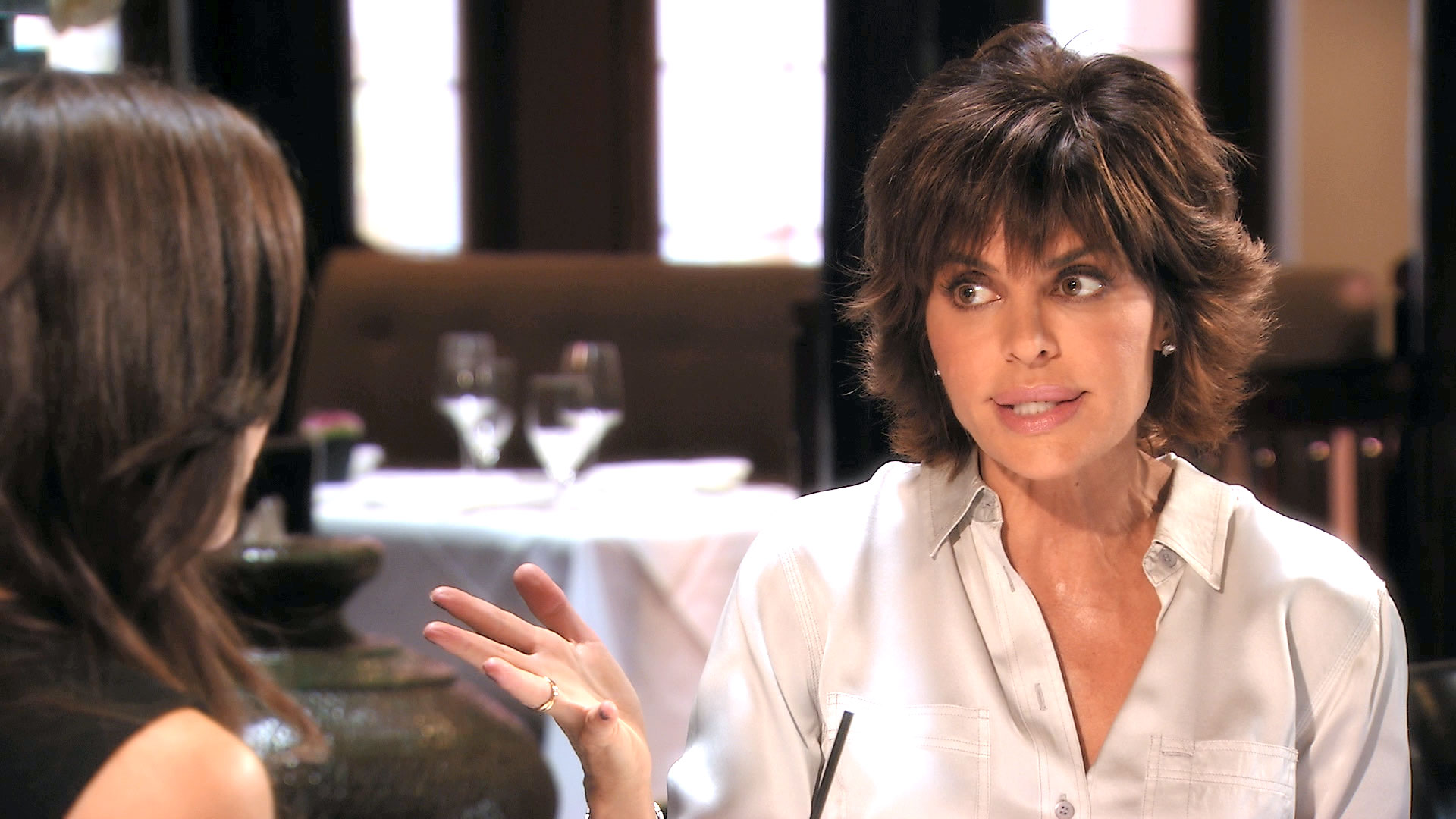 Lisa Rinna Gives Heather Advice