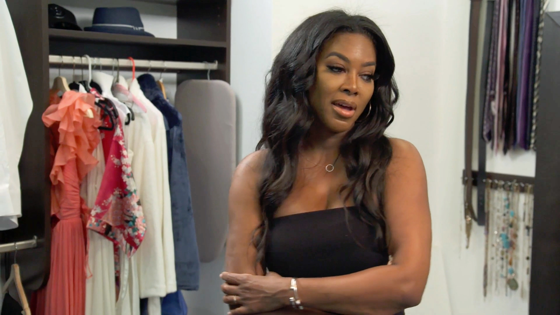Kenya Moore Removes Marc Daly's Belongings from Her Home