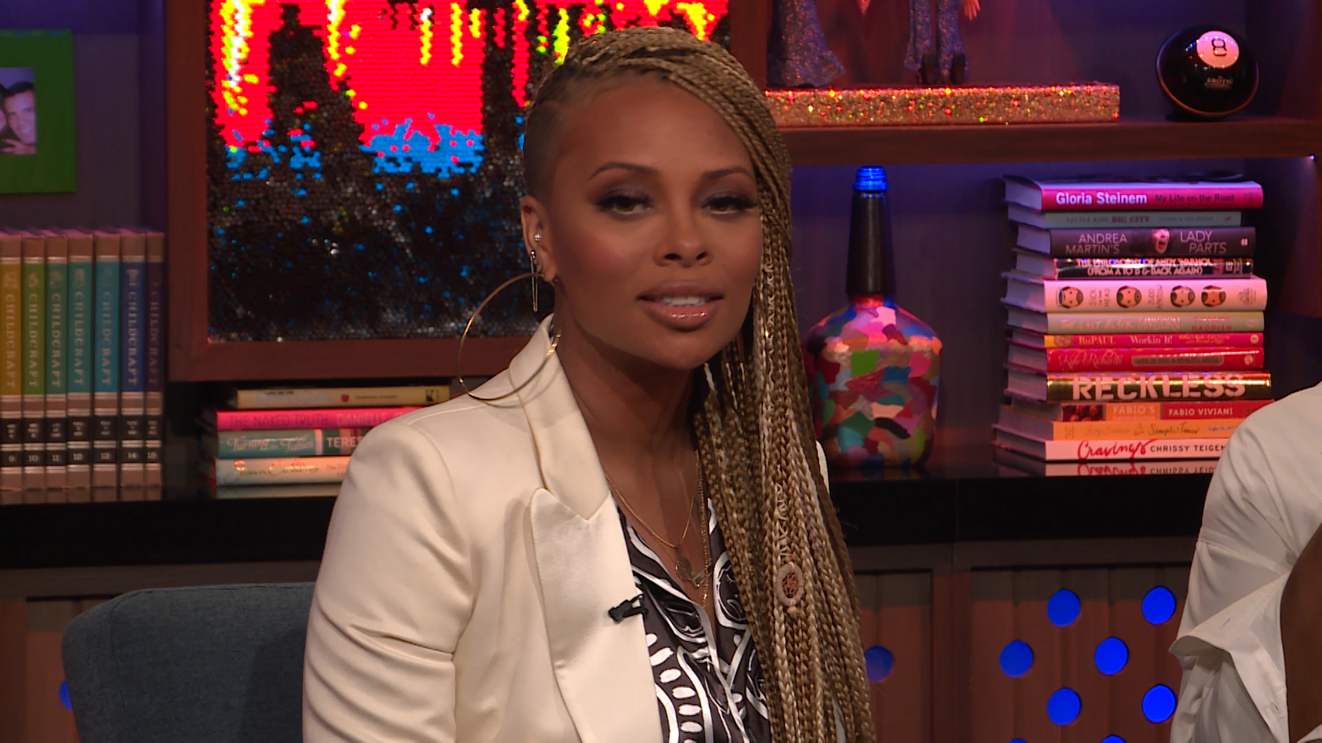 Why Did Eva Marcille Want to Take Off Her Mic?
