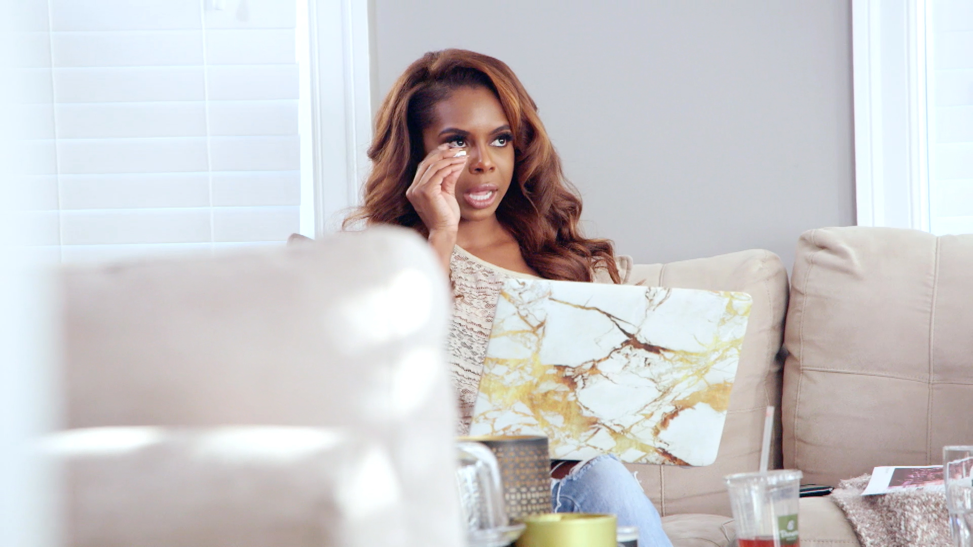 Candiace Dillard Tries to Set up Boundaries With Her Mother