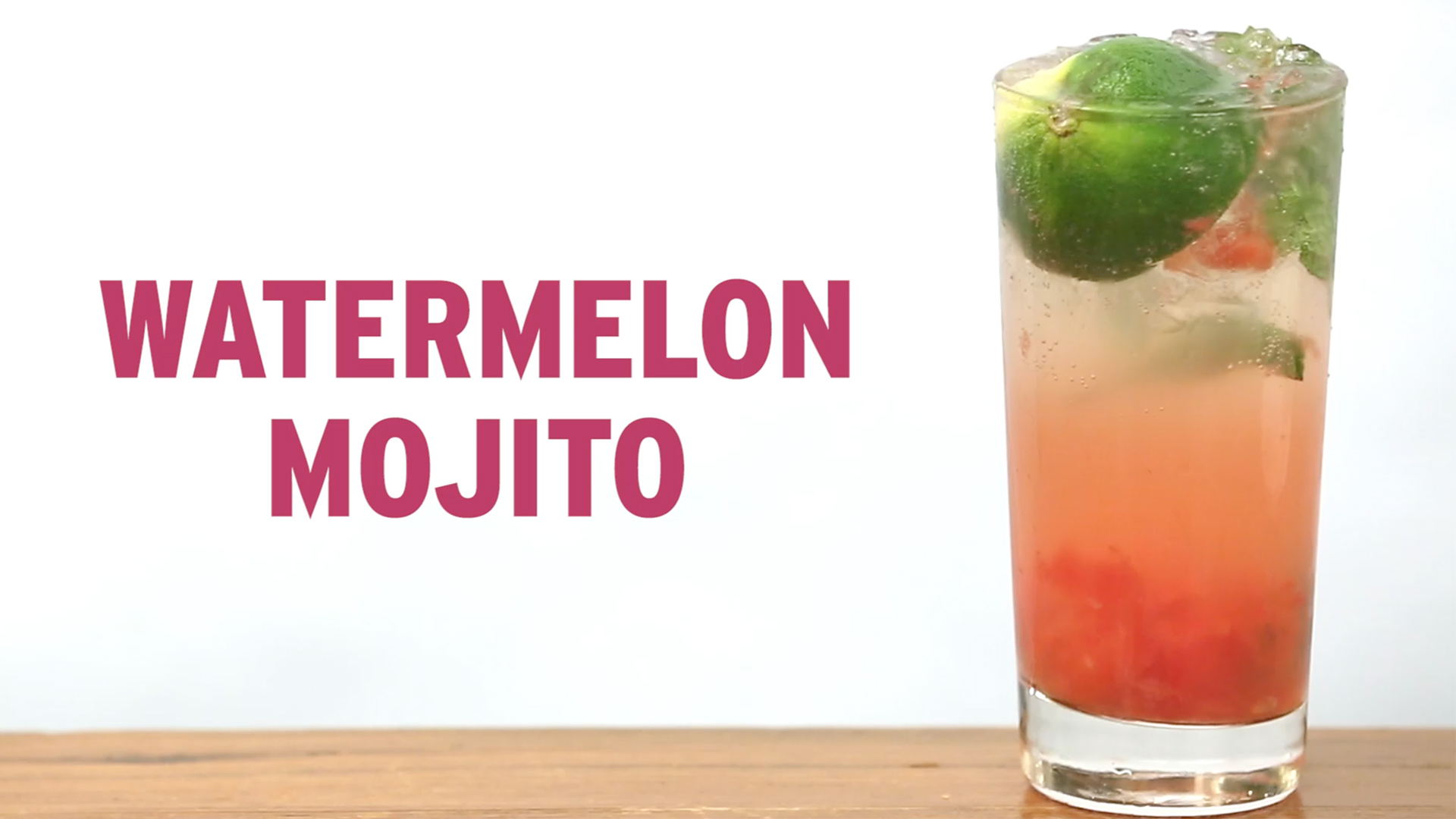 Tipsy by Bravo: Watermelon Mojito