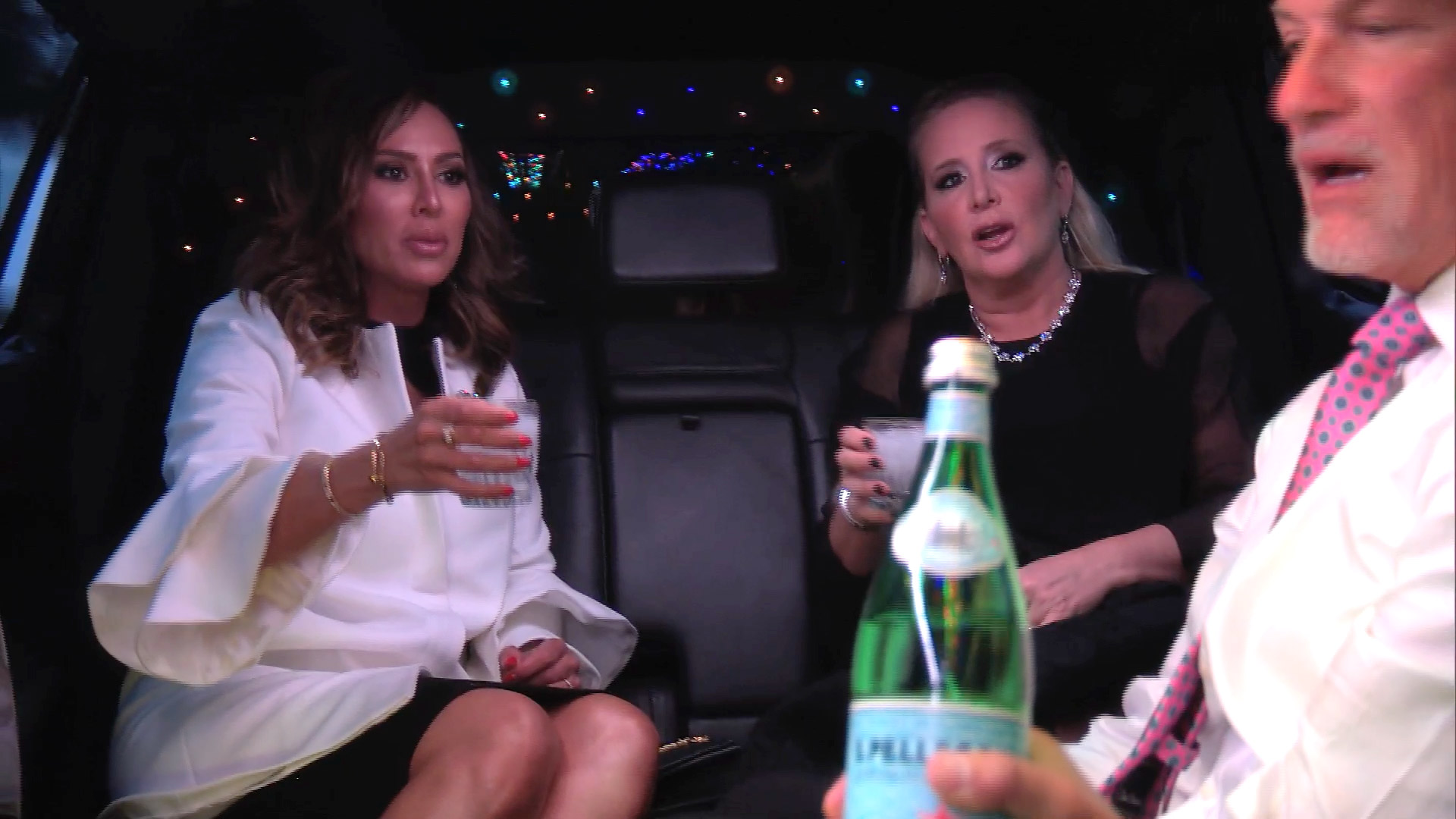 Is This the Most Awkward Limo Ride Ever?