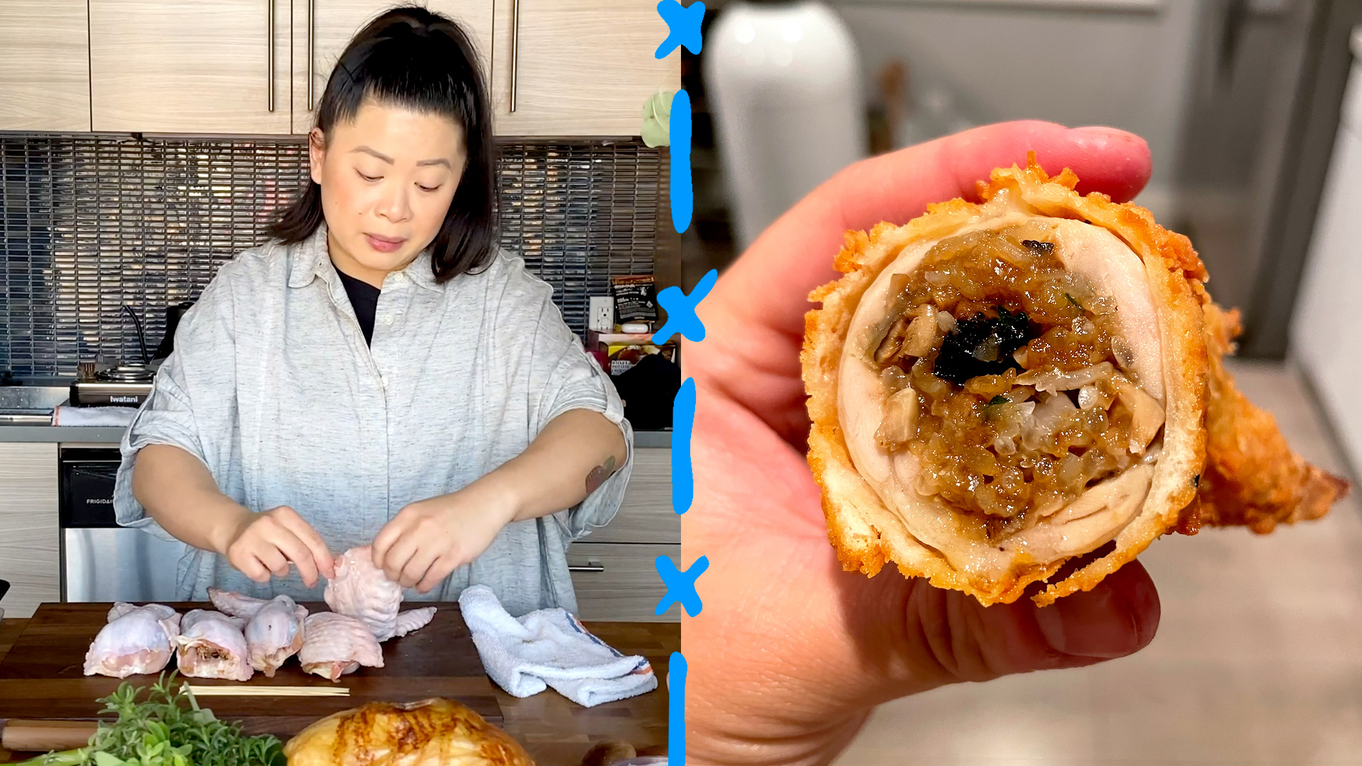 Mei Lin Shares Her Incredible Recipe for Stuffed Turkey Wings