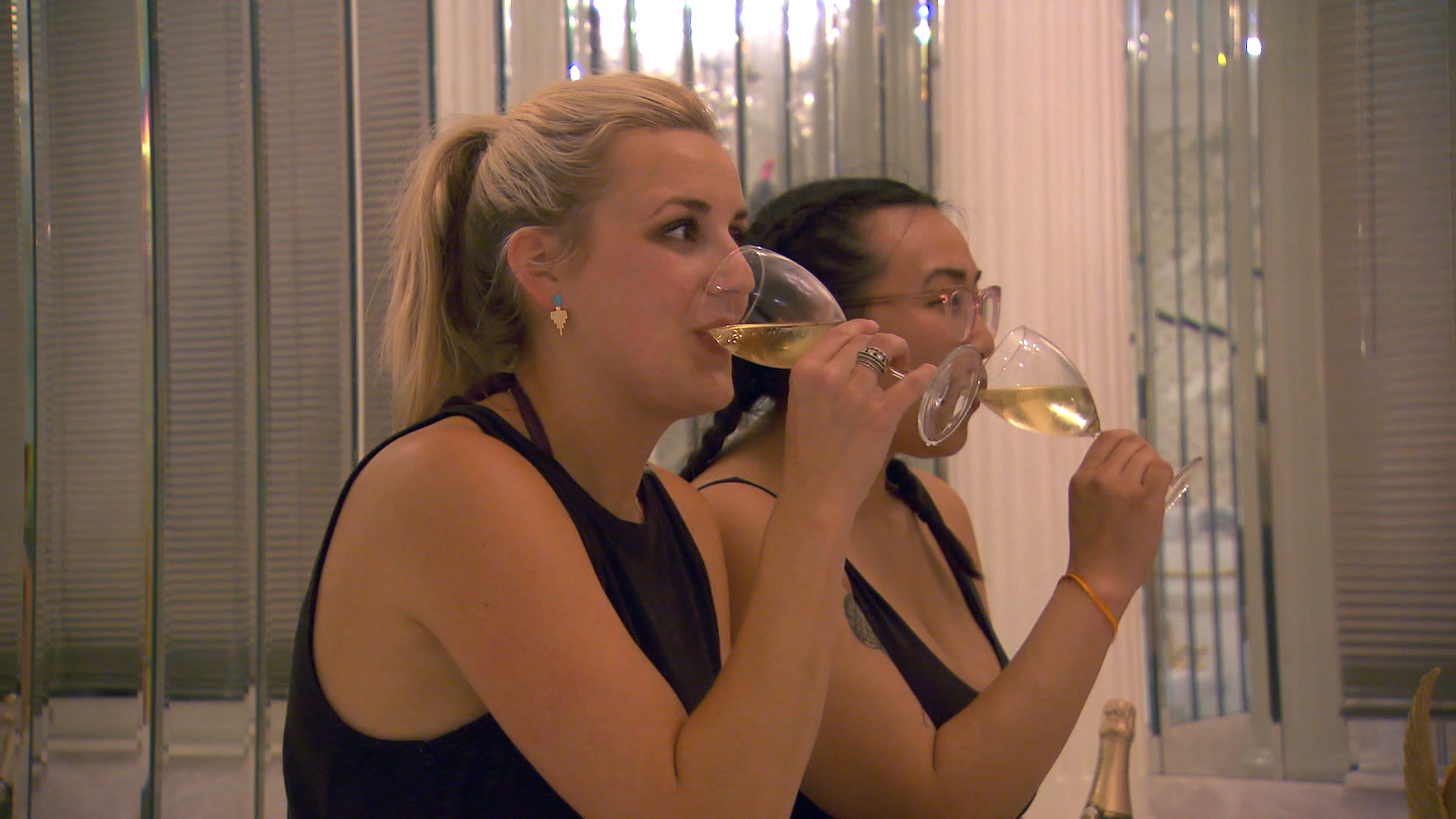 The Blue Team Is Popping Bottles and Eating Caviar Before Restaurant Wars