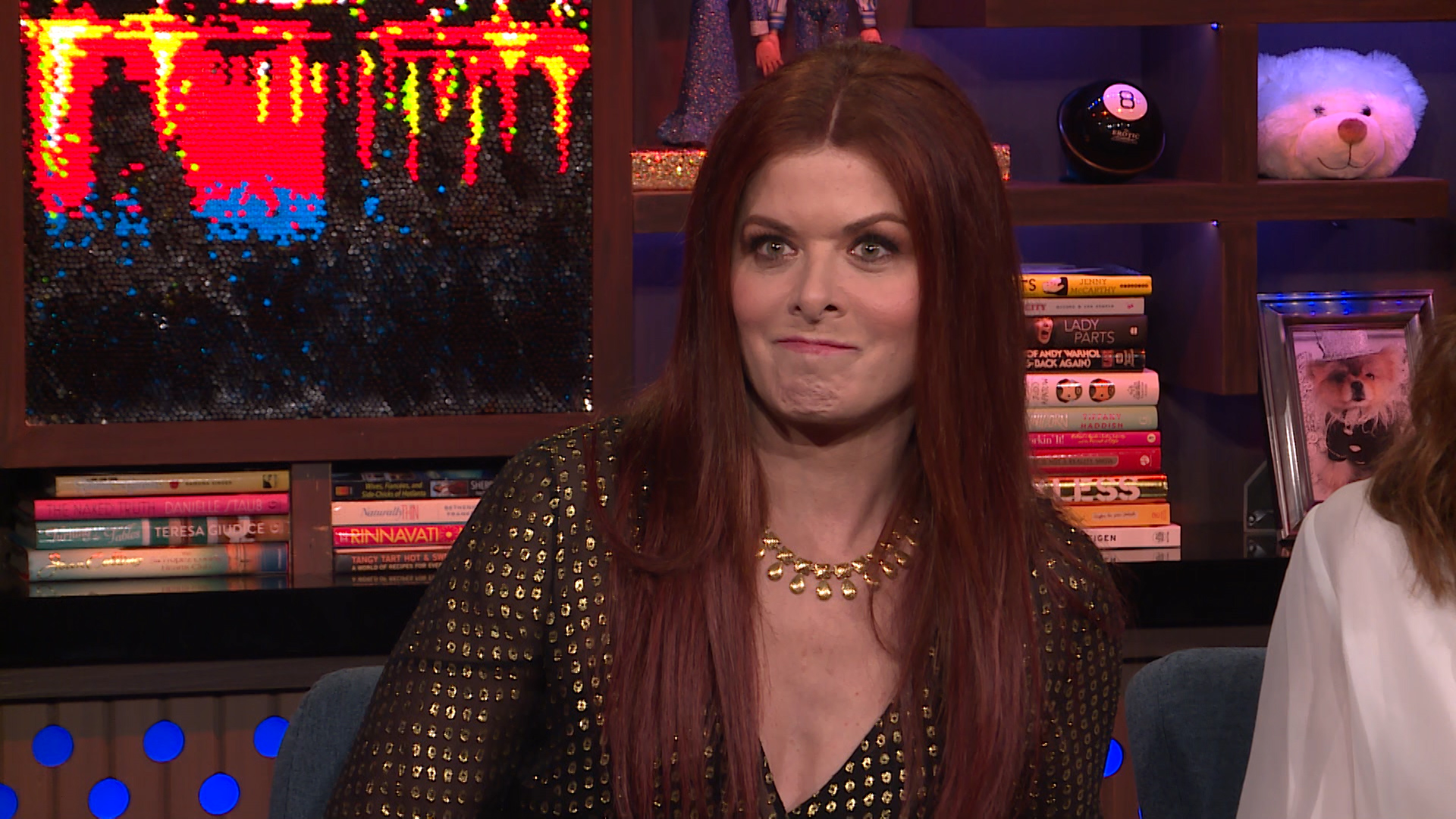 Debra Messing Would Rather Be Stuck with Trump