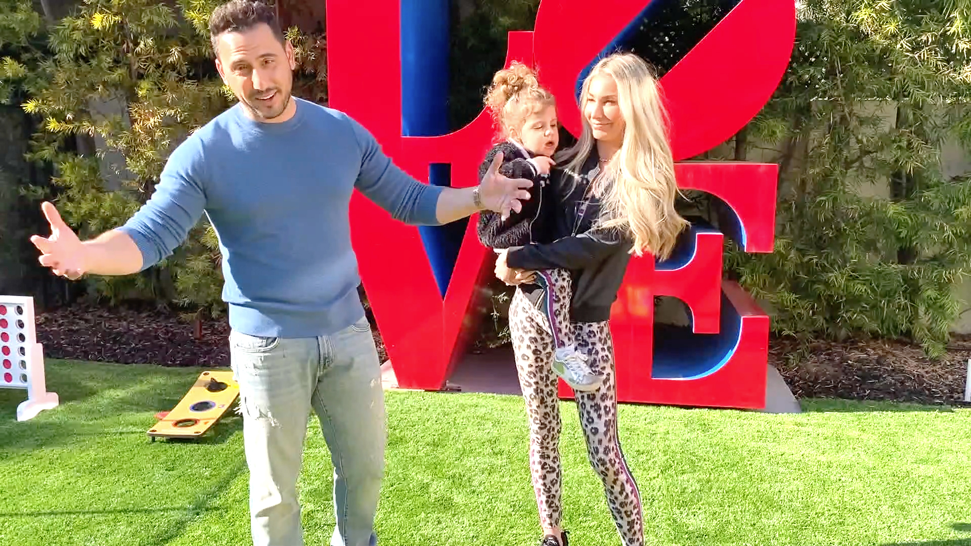 "Josh and Heather Altman Give a Tour of ""Lexi's Backyard"""