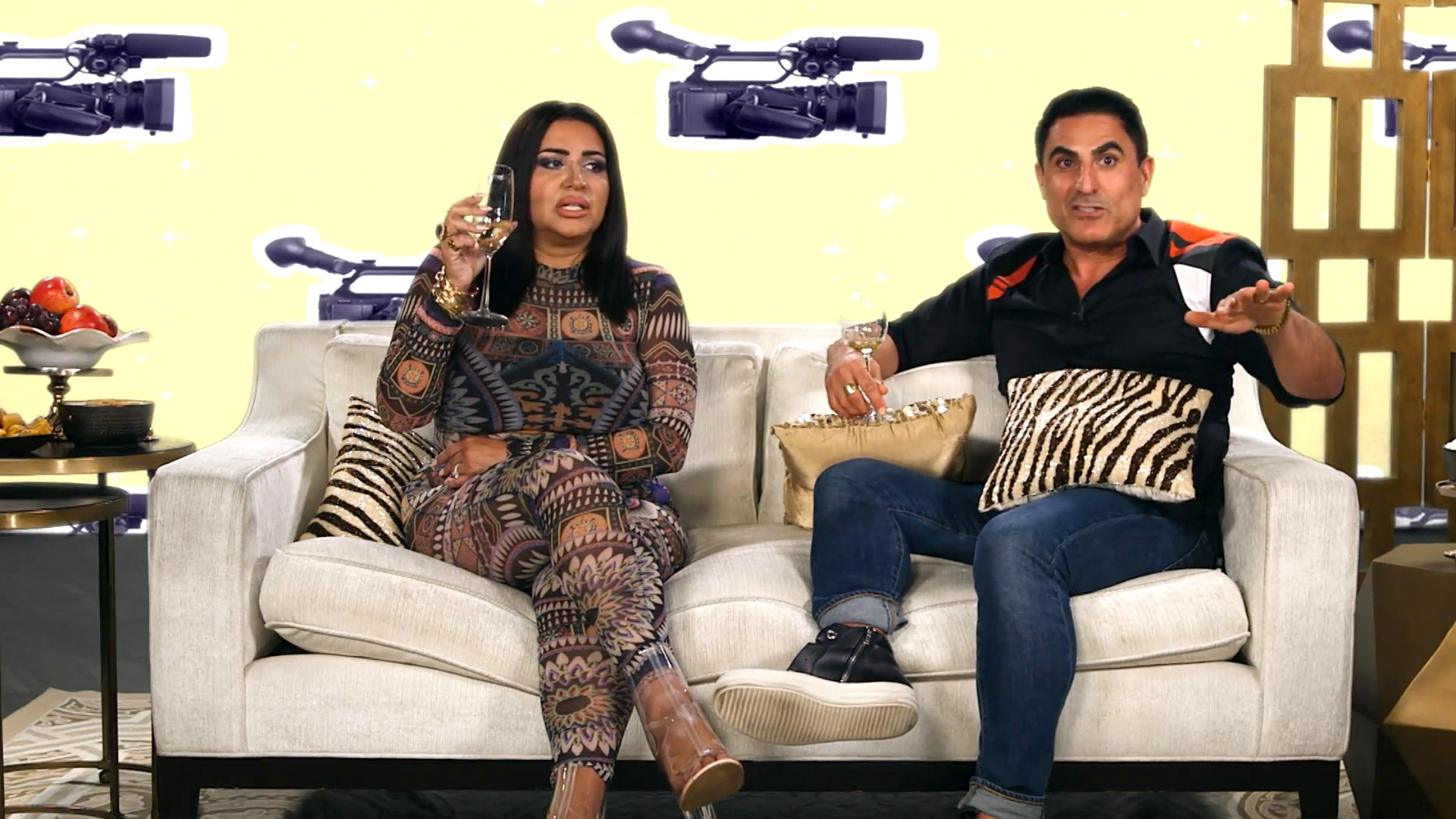 "Shahs After Show: Why Reza Thought Akko was ""Scary as F---"""