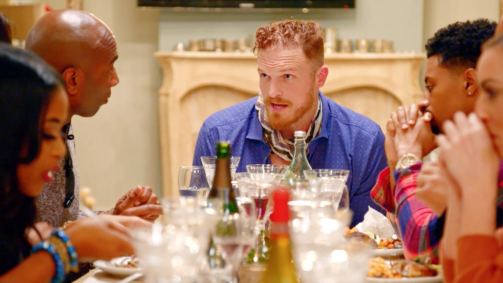 Things Get Awkward at Jeff Charleston's Friendsgiving