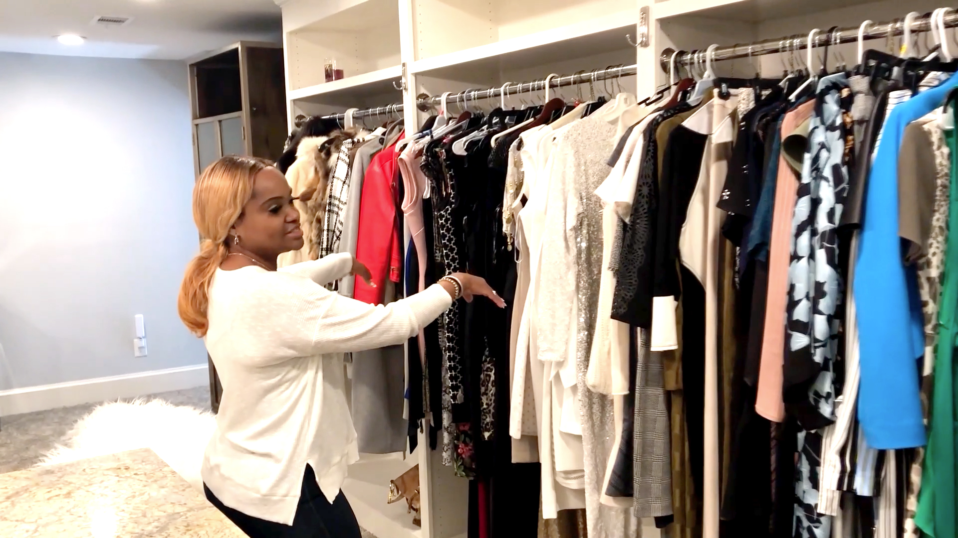 Heavenly Kimes is Taking You Inside Her Three-Story Closet