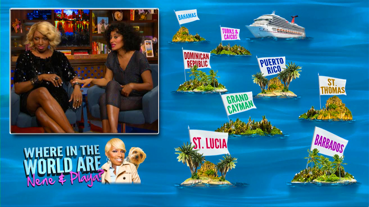 After Show: NeNe & Tracee Test Their Caribbean Knowledge