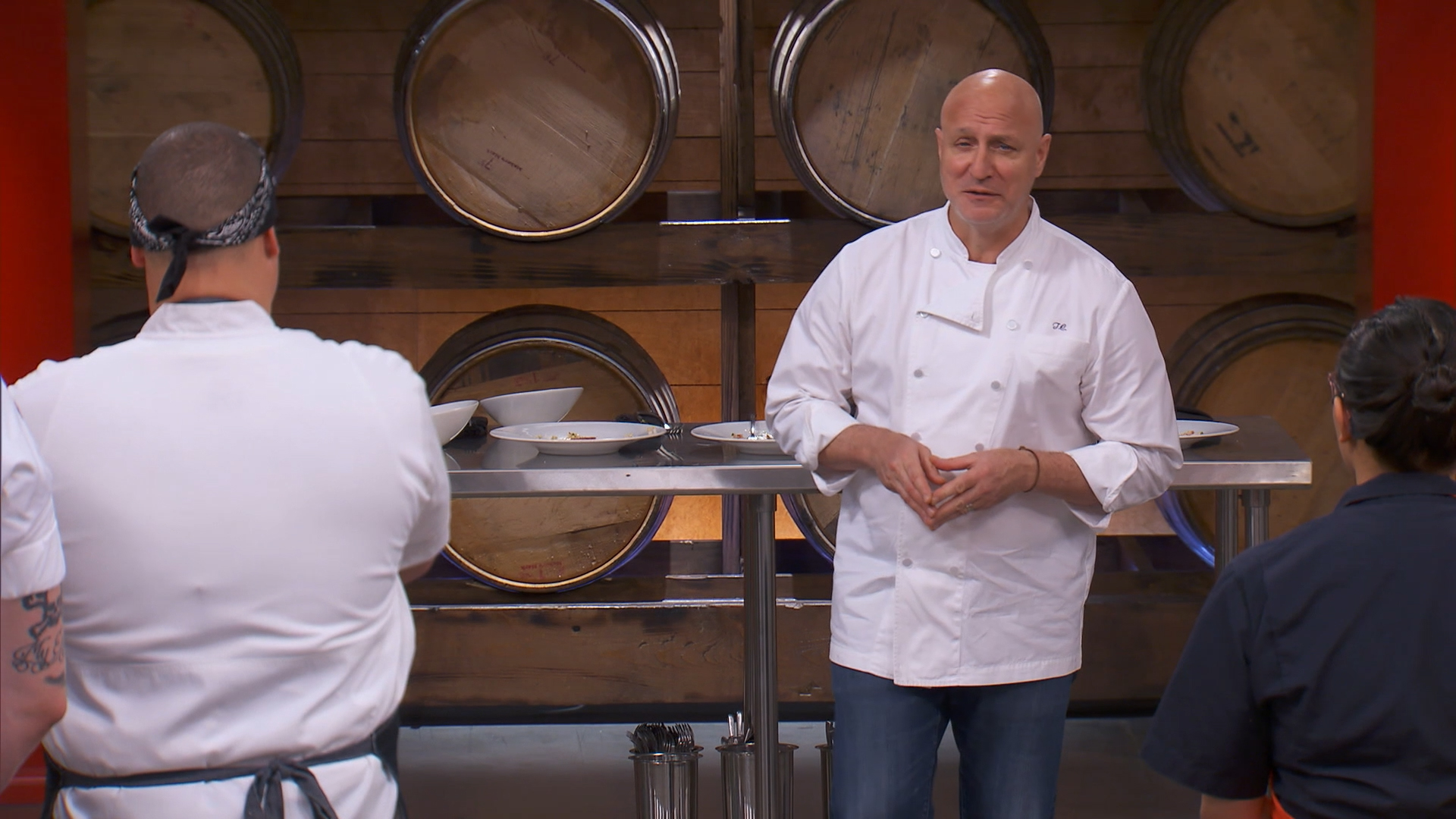 The Last Chance Kitchen Winner Re-Enters the Top Chef Competition!