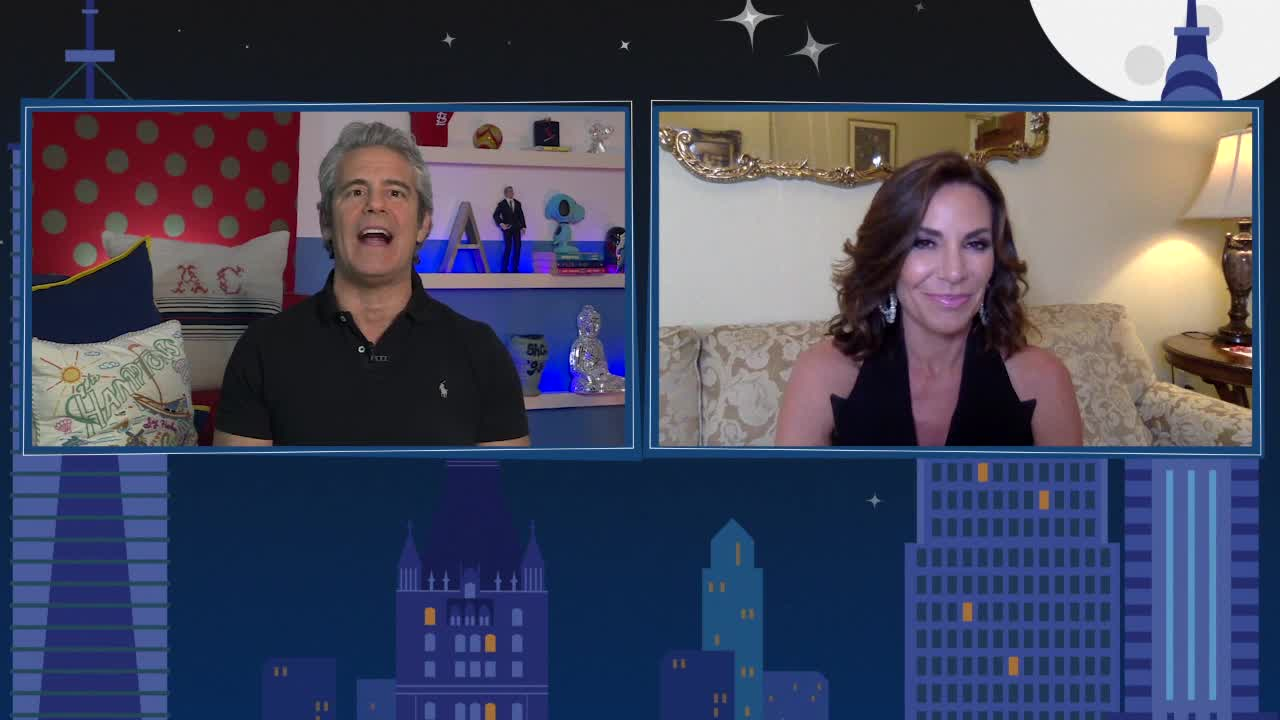 'The Pirate' Joins Andy Cohen & Luann de Lesseps