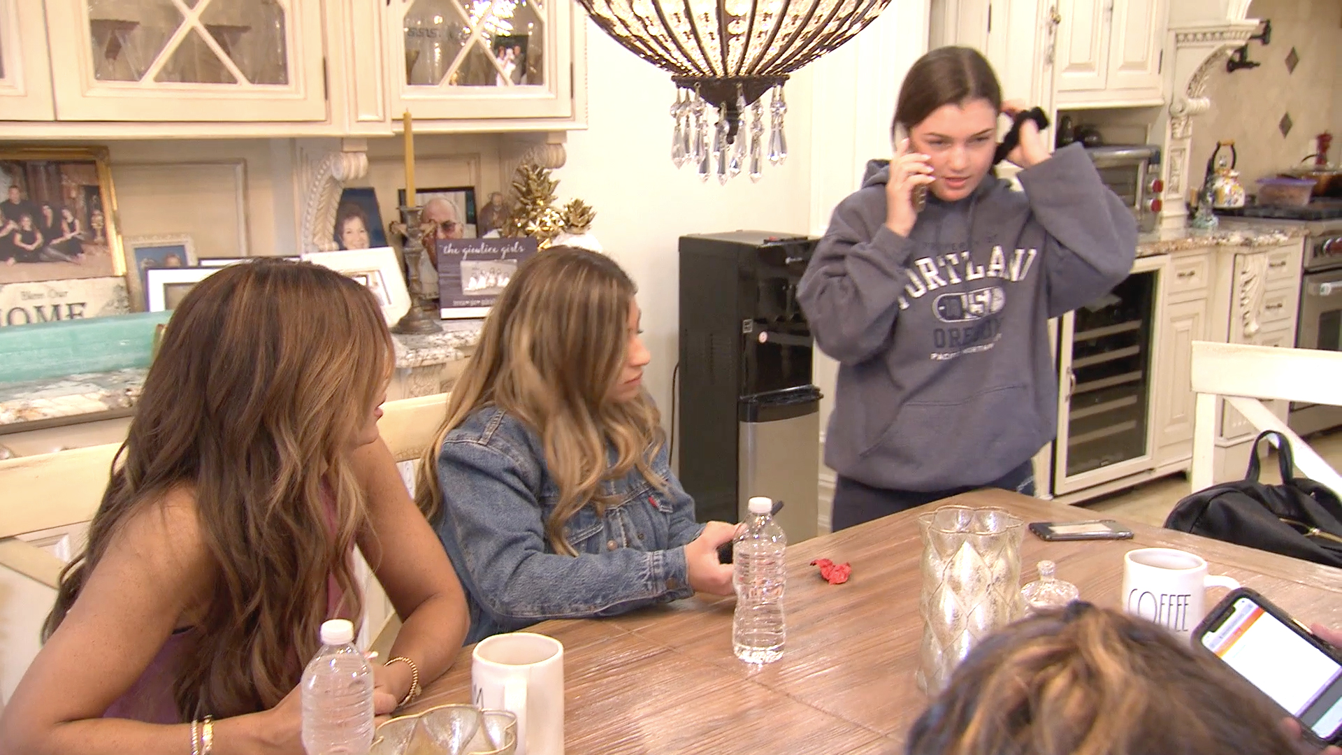 Joe Giudice Calls His Daughters From a New Facility