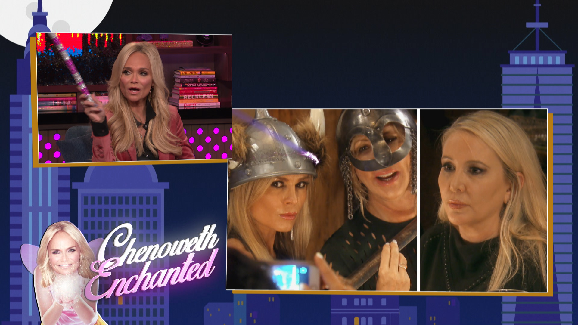 Kristin Chenoweth Solves Housewives Problems
