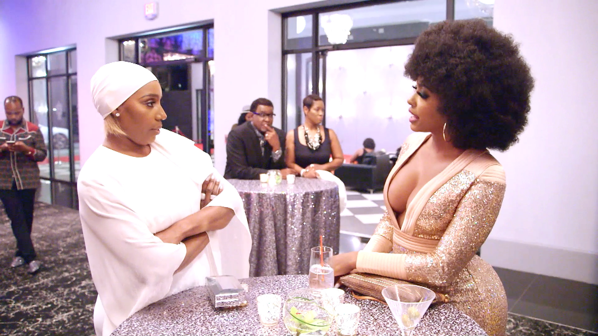 NeNe Leakes Confronts Porsha Williams About Their Issues