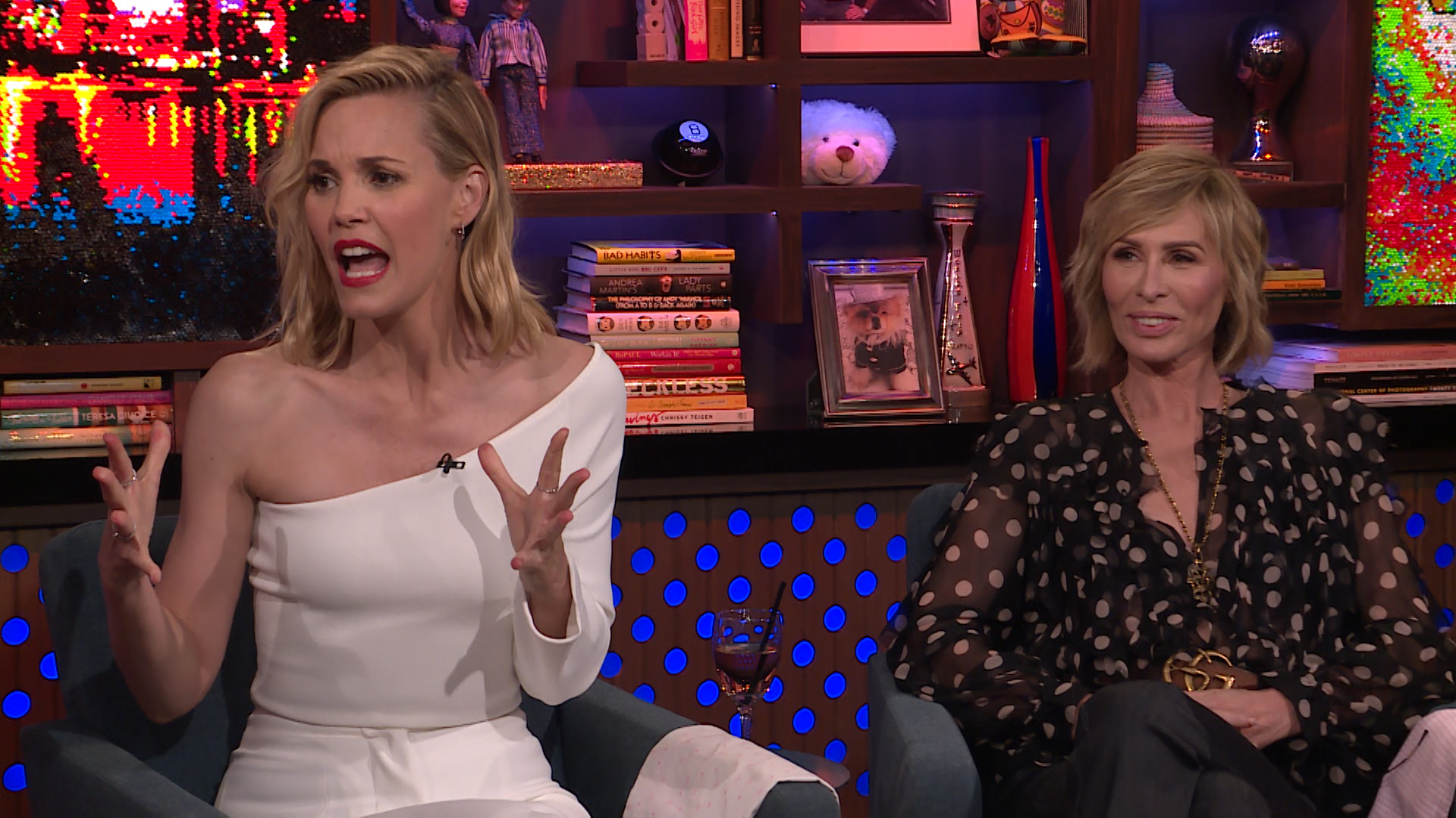 After Show: Leslie Bibb's Drunken Mistake