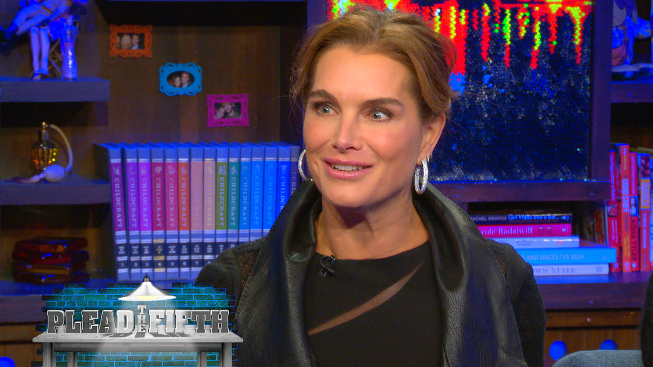 Brooke Shields Pleads the Fifth!