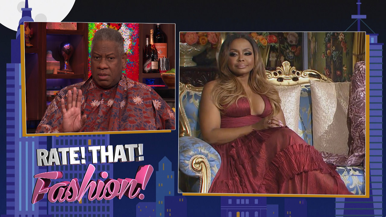 Andre Leon Talley Rates #RHOA Fashion