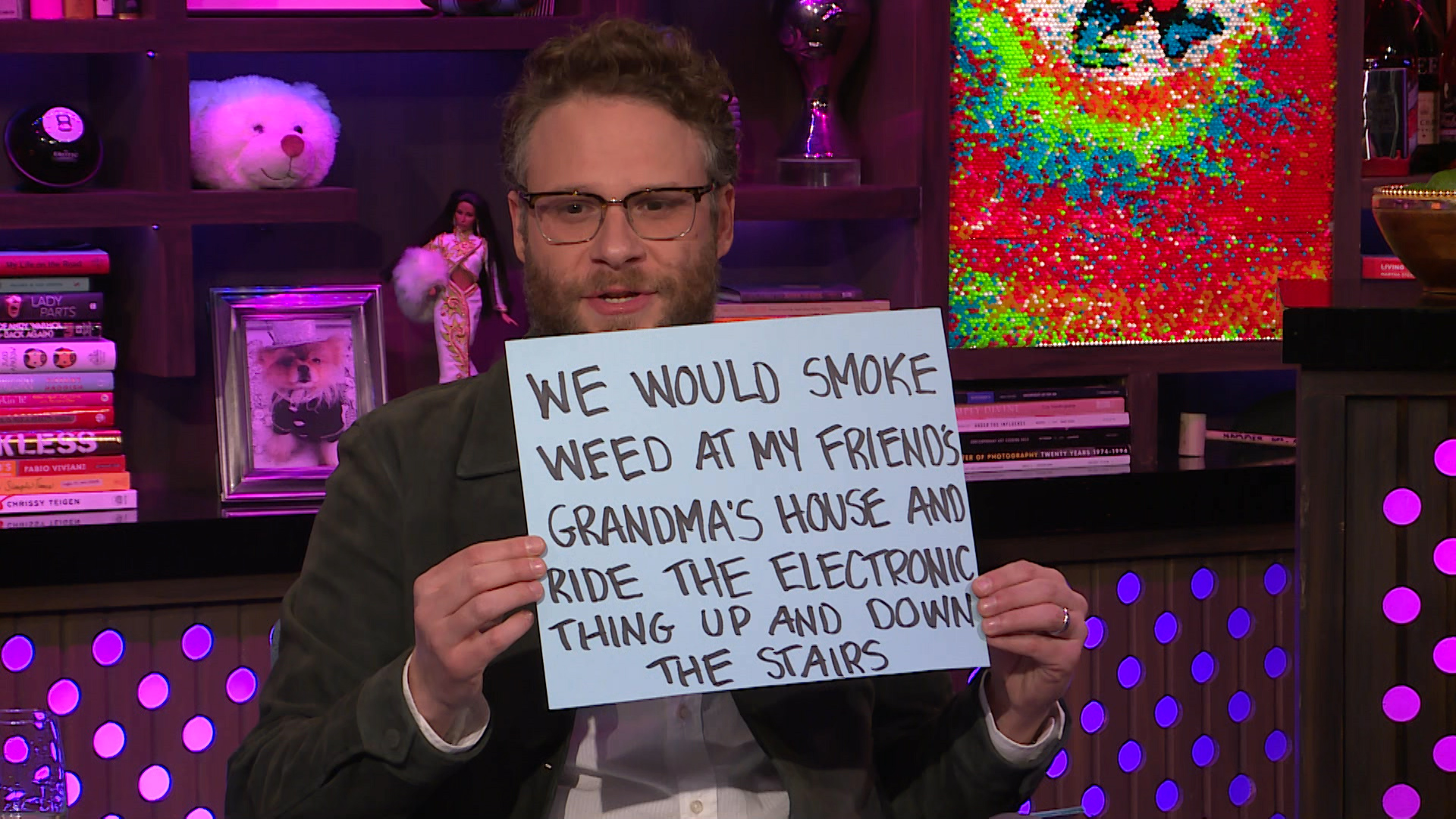 Seth Rogen's Hidden Talent