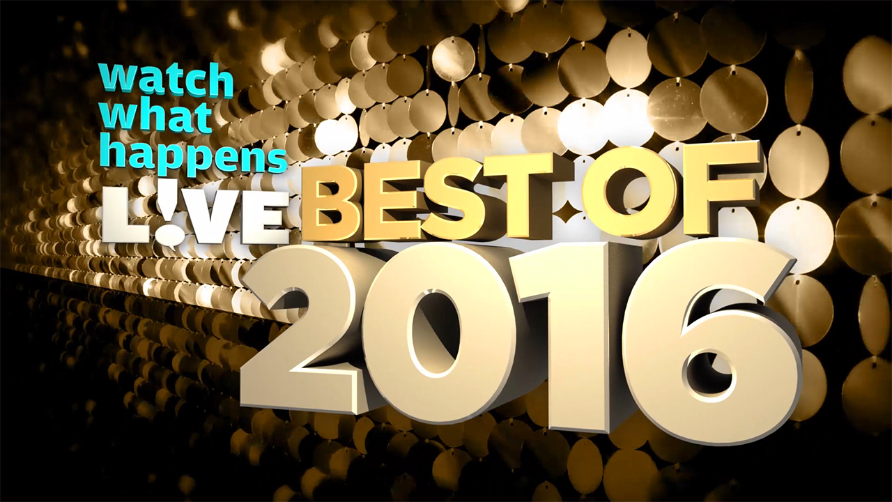#WWHL: The Best of 2016!