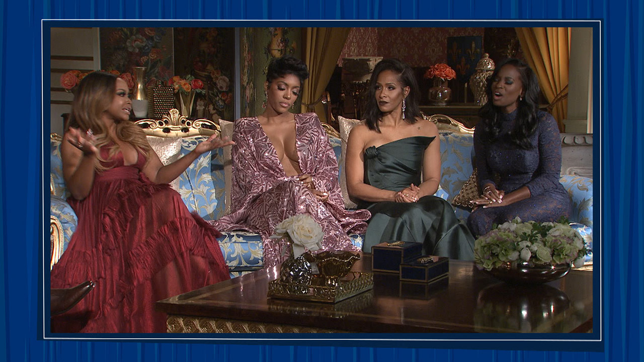 Shamea's Drama on a #RHOA Reunion Sneak Peek