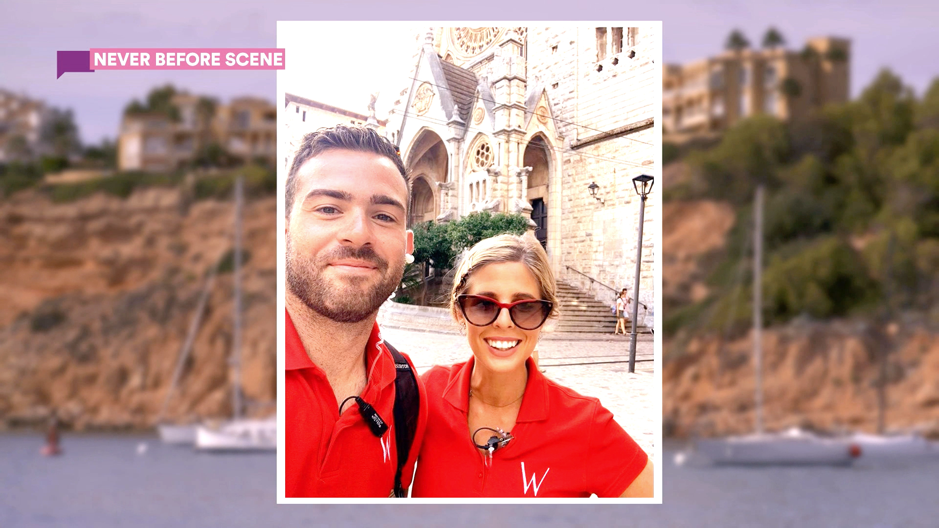 "Unseen Footage: Christine ""Bugsy"" Drake and Alex Radcliffe Take Their First Selfie Together!"