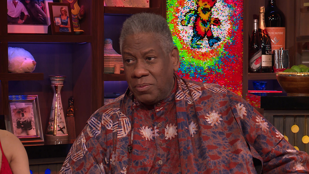 Andre Leon Talley Chooses Between Naomi Campbell & Tyra Banks
