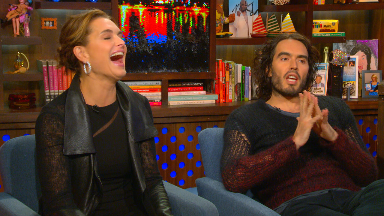 After Show: Russell Channels Kate Moss