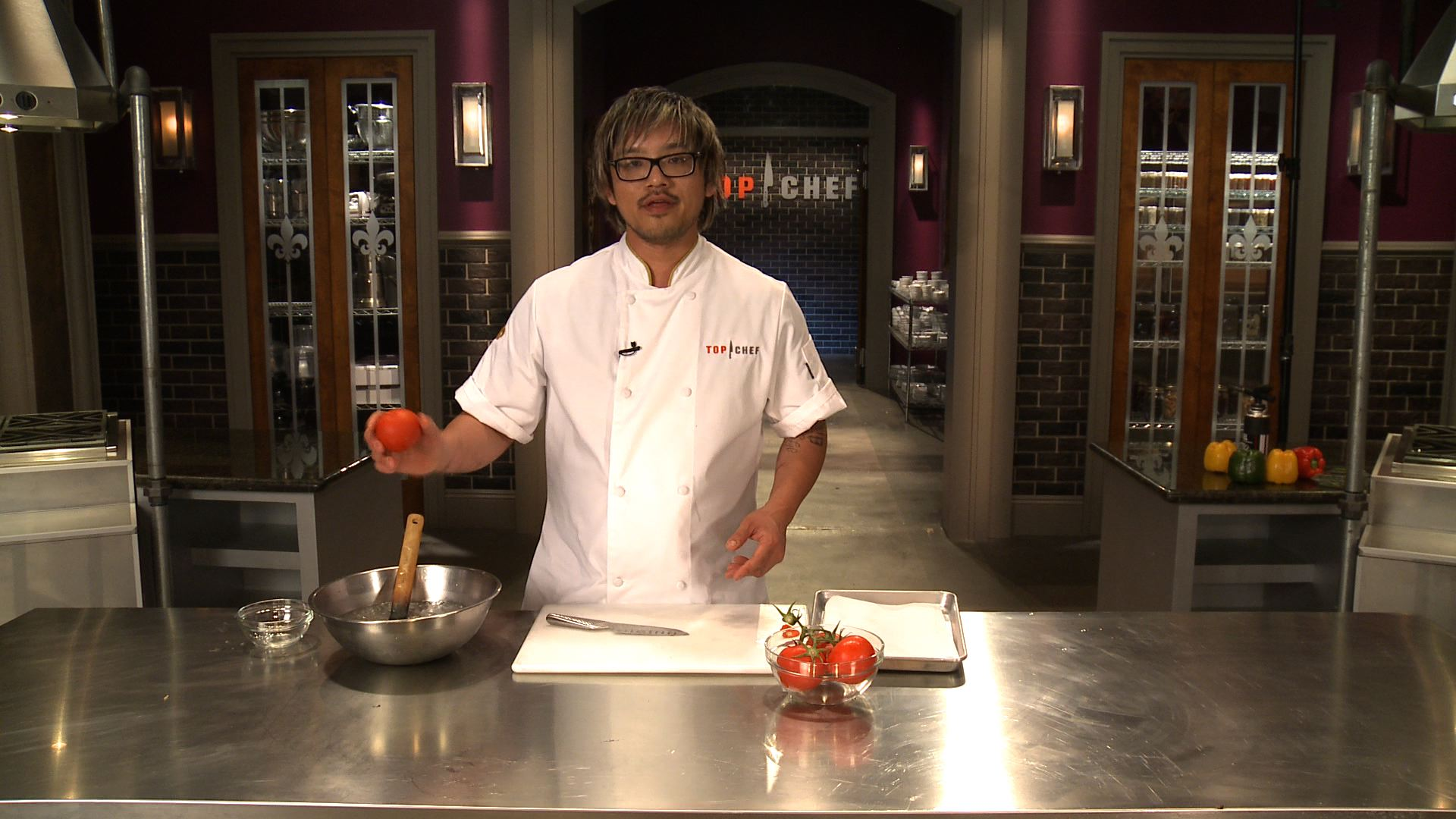 Like A Chef: Utilizing A Tomato