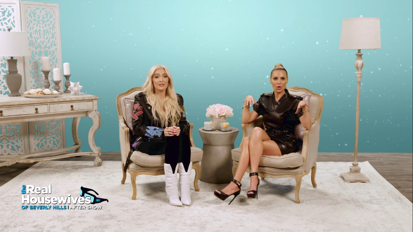 "Erika Jayne and Dorit Kemsley on Being Banished to ""the Attic"" in Provence"