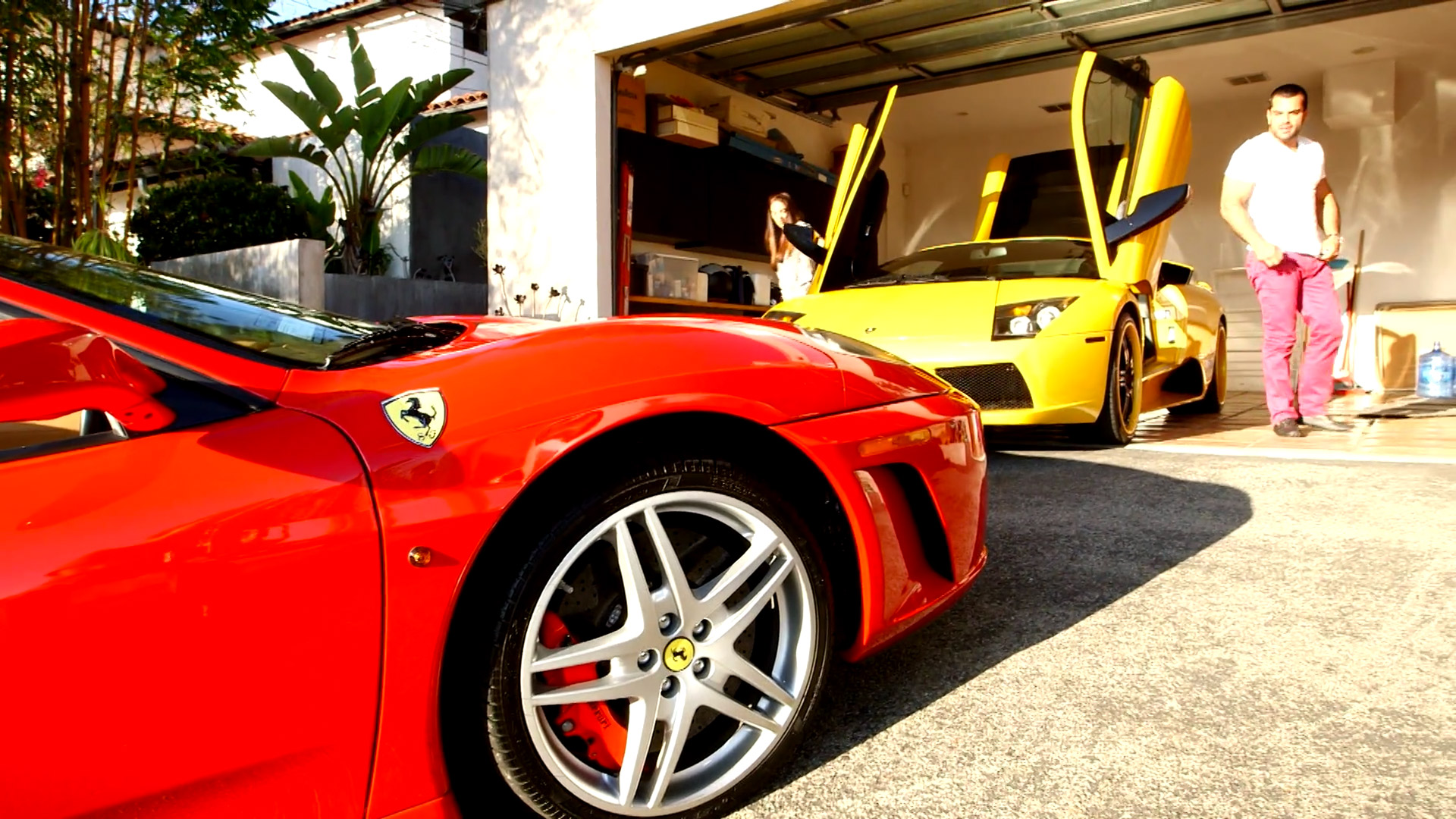 Meet Shervin's Exotic Car Collection