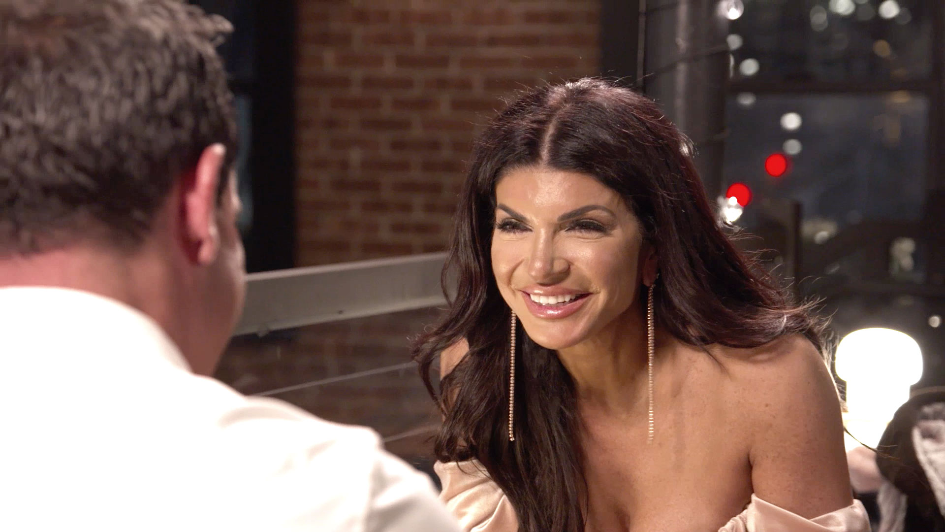 "Teresa Giudice and Her BF Luis ""Louie"" Ruelas Go on a Romantic Date"