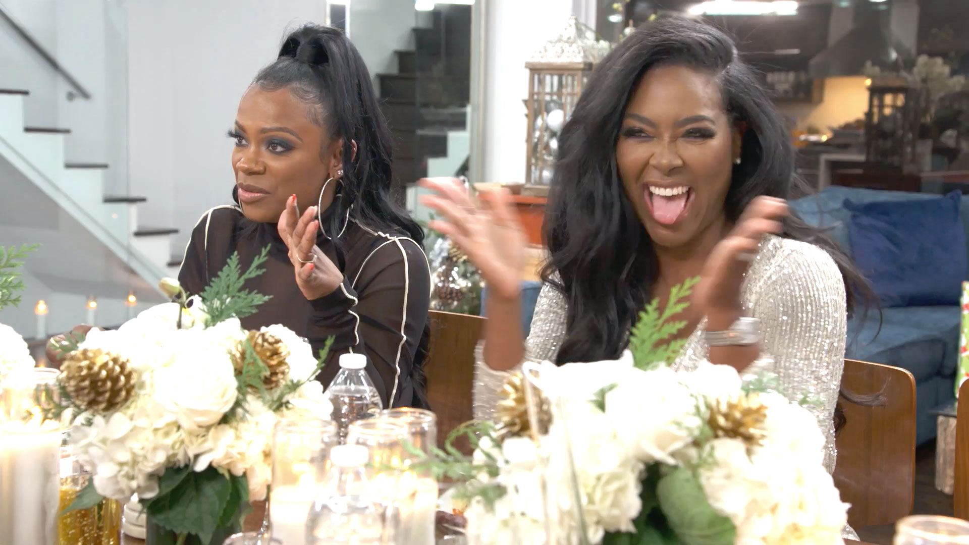 The RHOA Ladies Draw Numbers for Their White Elephant Gift Exchange